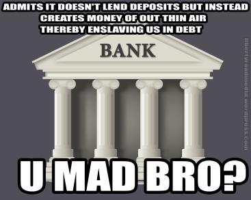 BANK-u mad bro
